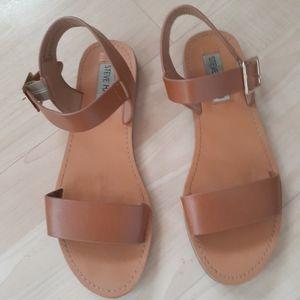 Steve Madden Brown Strappy Sandals Size 6